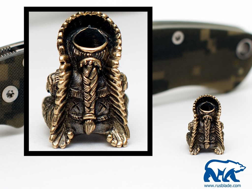 """Custom Sword Knot """"Chief"""" Limited Edition"""