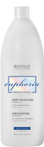 Увлажняющий шампунь для волос с Keratin Complex Bouticle