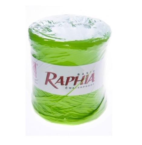 Рафия искусственная Италия 200 м Цвет: зеленое яблоко