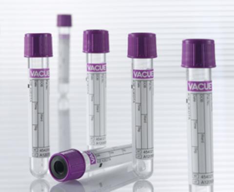 Пробирки вакуумные VACUETTE (Вакуэт) с К2 ЭДТА для гематологии 9 мл 16х100 мм, без резьбы Greiner Bio-One GmbH, Austria/Грейнер Био-Уан, Австрия