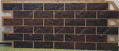 Фасадная панель Альта Профиль Кирпич Жженый 1140х480 мм