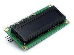 Дисплей LCD1602, 2-строчный, синий, с I2C модулем