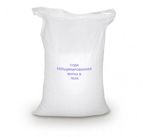Сода кальцинированная марки Б Техн.  Na2CO3