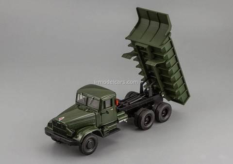 KRAZ-222B dump 1963-1966 khaki 1:43 Nash Avtoprom