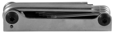 H07M08SF Набор ключей торцевых TORX® Т9-40 в ключнице, 8 предметов