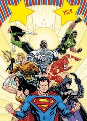 Вселенная DC Comics. Календарь настенный-постер на 2020 год