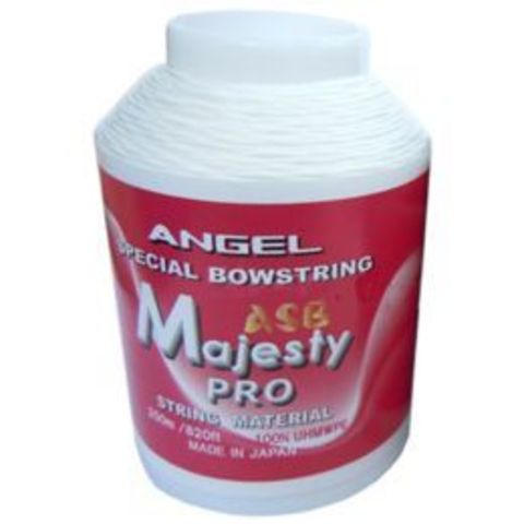 Тетивная нить для лука спортивного Angel Bowstring Material ASB Majesty Pro 250m White