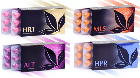 APL. Набор драже 8 коробок: HRT+MLS+ALT+HPR  для здоровья сердца и сосудов