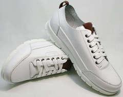 Кроссовки для повседневной жизни мужские Faber 193909-3 White.