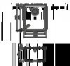 Схема Omoikiri Bosen 38-U-SA
