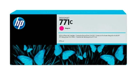Картридж струйный HP B6Y09A (№771C) пурпурный