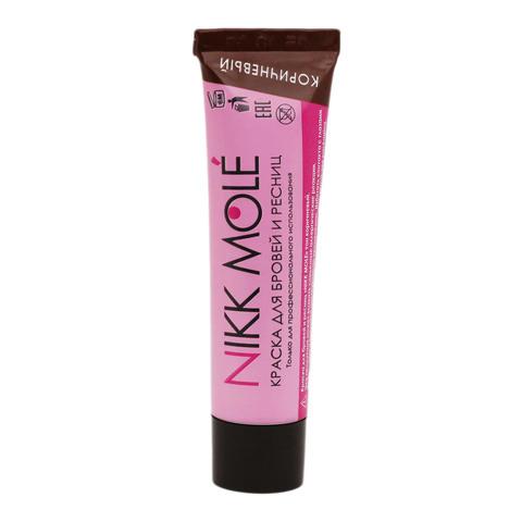 Краска для бровей и ресниц Nikk Mole (коричневый) 15мл