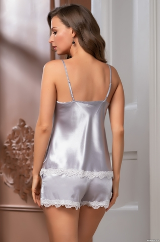 Пижама женская Mia-Mella Джулия JULIA 8732 серебро