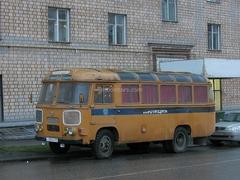 PAZ-672M Police Soviet Bus 1:43