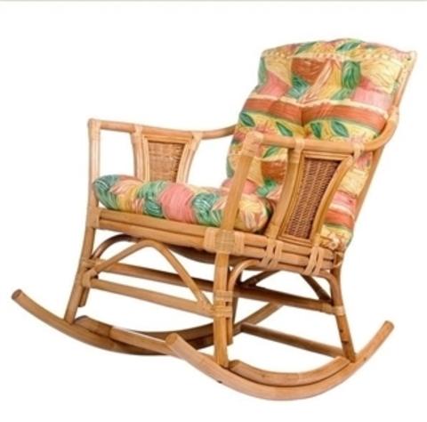 Кресло-качалка с подушкой Canary (004.006) золотой мед