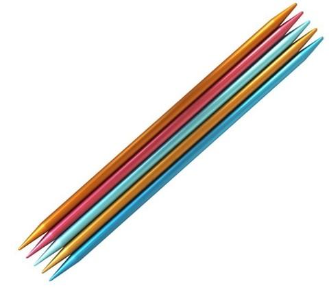 Спицы для вязания Addi Colibri чулочные  20 см, 3.5 мм