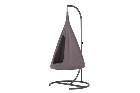 Подвесное кресло-гамак со стойкой