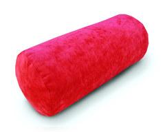 Подушка диванная валик Красная