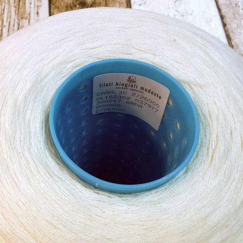 Меринос с кашемиром (30%)  2/26 BIAGIOLI MODESTO / CASH30  белый