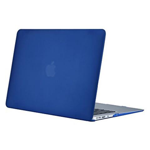 Накладка пластик MacBook Air 13.3 /matte blue/ DDC