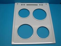 Белая металлическая поверхность (рабочий стол) для плит Горенье с чугунными конфорками 225505