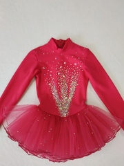 Платье Флуффи (лучи из страз)