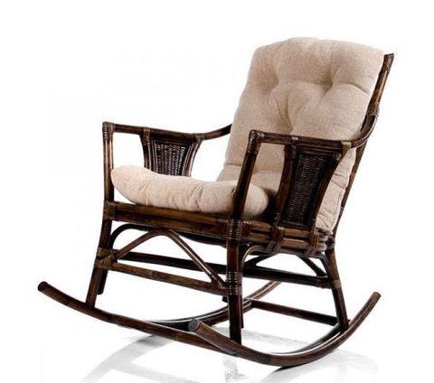 Кресло-качалка с подушкой Canary (004.006) орех