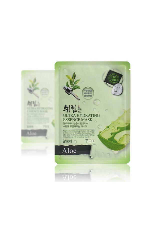 Маска тканевая для лица с алое Shelim Hydrating Essence Mask - Aloe
