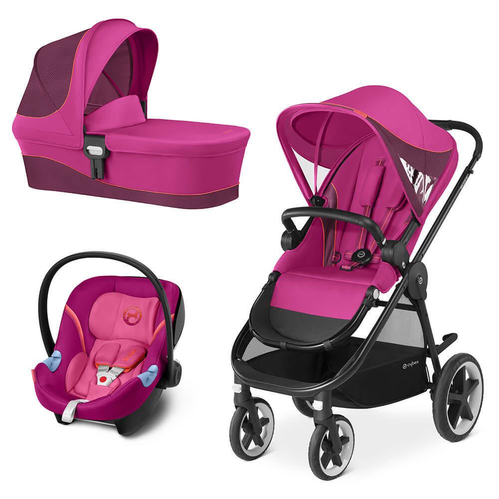 Cybex Balios M 3 в 1 Детская коляска Cybex Balios M 3 в 1 Passion Pink Balios-M-3-в-1-Passion-Pink.jpg