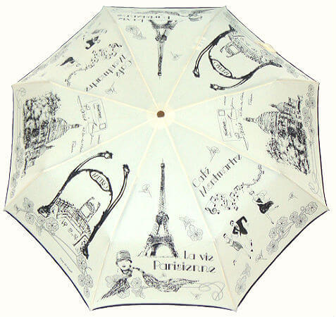 Зонт складной Guy de Jean 3405-18 Annees Folles