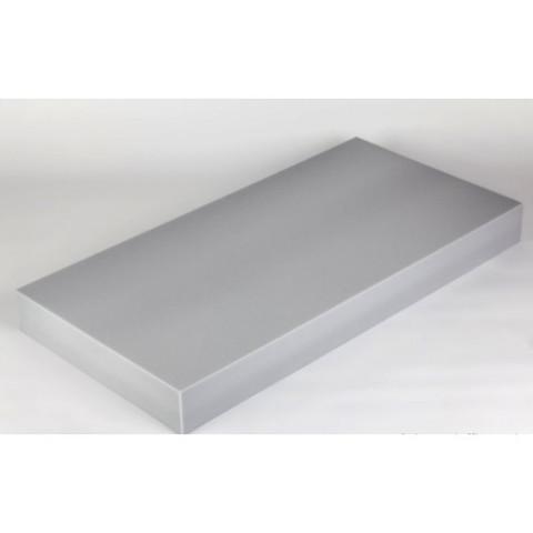 негорючая  акустическая панель ECHOTON FIREPROOF 100x50x10cm  из материала  BASOTECT серый