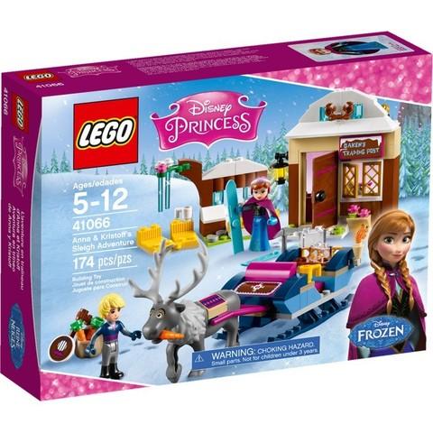 LEGO Disney Princess: Анна и Кристоф: прогулка на санях 41066 — Anna & Kristoff's Sleigh Adventure — Лего Принцессы Диснея