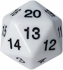 Кубик - счётчик жизней 55 мм белый