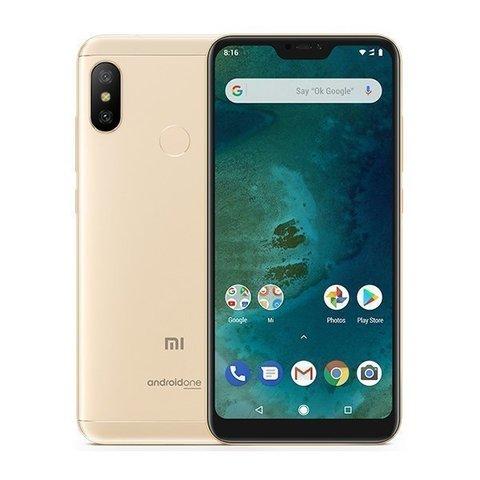 Смартфон Xiaomi Mi A2 Lite 3GB/32GB (Gold-золотой)
