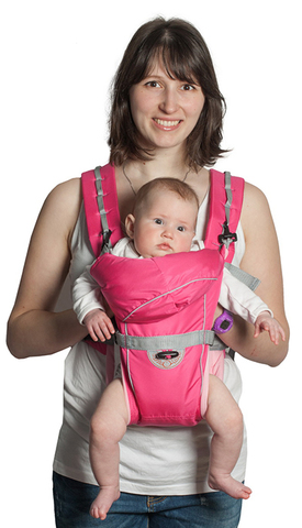 Чудо-Чадо. Рюкзак-кенгуру BabyActive Simple, розовый