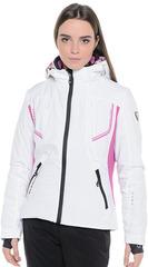 Горнолыжная куртка Hyra White-Fucsia женская