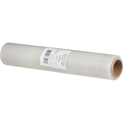 Стрейч-пленка для ручной упаковки вес 0.99 кг 17 мкм x 45 см x 140 м (престрейч 180%)