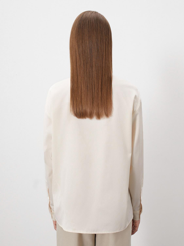 Рубашка Lee с асимметричной застежкой, Молочный