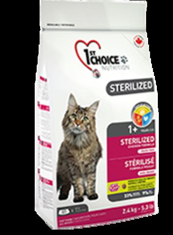 Cats Sterilized - беззерновой корм для кастрированных и стерилизованных кошек