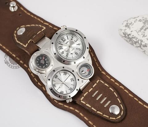WLS131 Крупный браслет для часов ручной работы с прошивкой