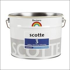 Краска для стен и потолков BECKERS SCOTE 3 (Белый)