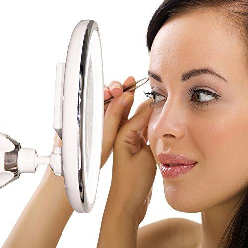 Товары для дома Зеркало косметическое гибкое с подсветкой и с увеличением х10 zerkalo-10x6.jpg