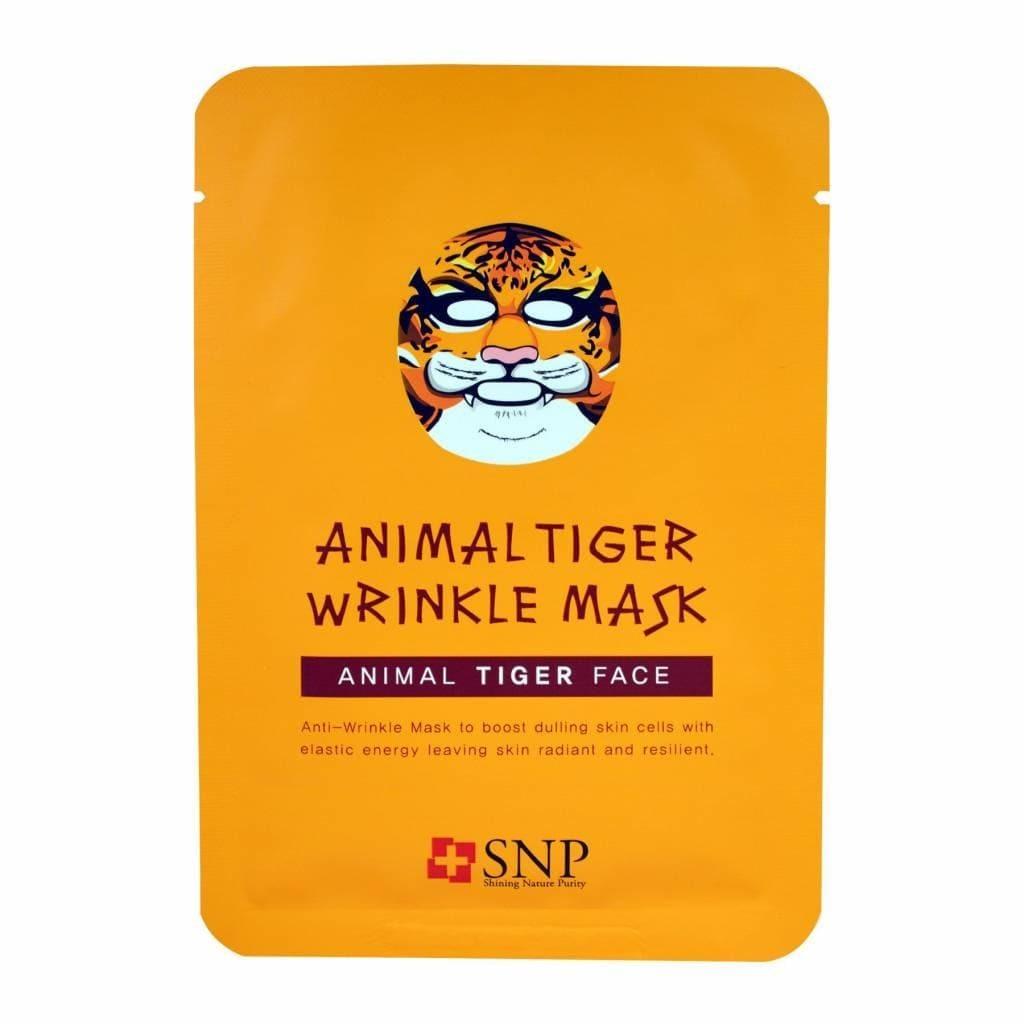 Тканевая маска для лица - SNP Animal Tiger Wrinkle Mask