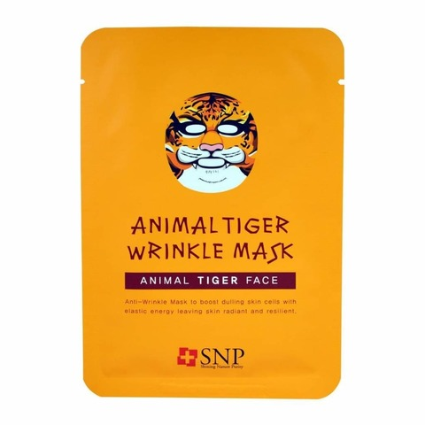 Тканевая маска SNP Animal Tiger Wrinkle Mask