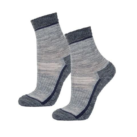Детские махровые носки Janus цвет серый