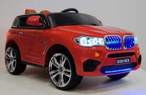 Детский электромобиль Rivertoys BMW X5 E002KX-RED красный
