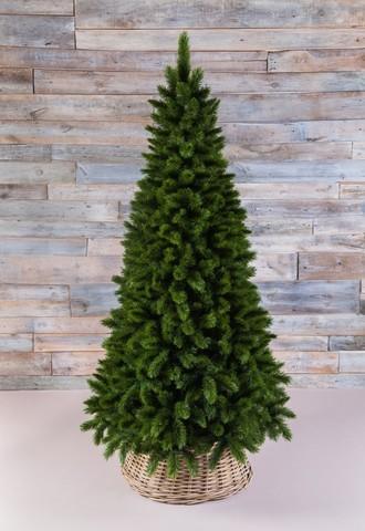 Искусственная елка Триумф Норд стройная 185 см зеленая