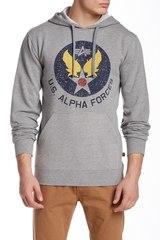 Толстовка Alpha Industries Irvin (серая)