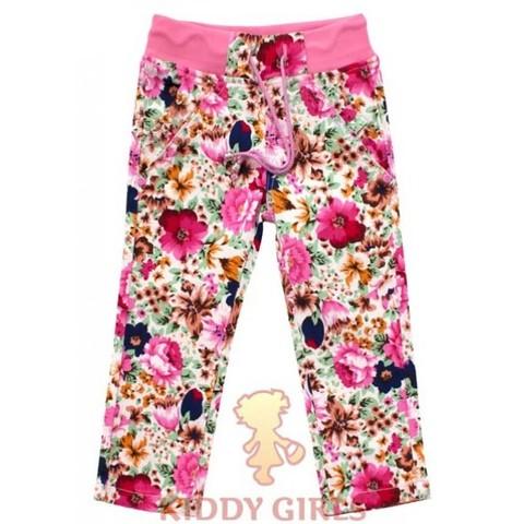 Джинсы для девочки Yuke Flower Boom 440