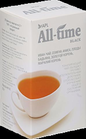 APL. Черный чай All-Time Black тонизирующий